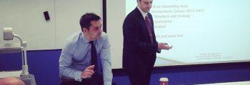 Καλεσμένος ομιλητής στο City University του Λονδίνου