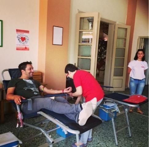 Δωρητής αιμοδότης