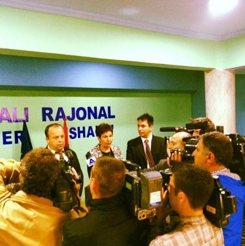 Επίσκεψη σε Νοσοκομείο της Αλβανίας