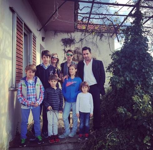 Με τα παιδιά των αδερφών μου
