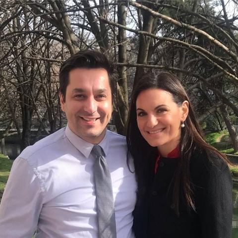Με την πρωην Υπουργό Τουρισμού και 1η Βουλευτή Ά Αθηνών Όλγα Κεφαλογιάννη