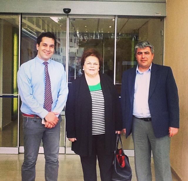 Με την πρώην Βουλευτή και Ευρωβουλευτή κ. Νίκη Τζαβέλλα
