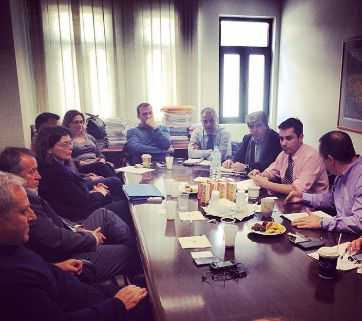 Συνάντηση Νοσοκομείων Ηπείρου για επίλυση προβλήματος πληροφοριακού συστήματος
