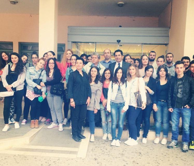 Επίσκεψη φοιτητών Διοίκησης & Οικονομίας
