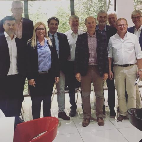 Εκπαιδευτική συνάντηση με Γερμανούς διοικητές νοσοκομείων 2019