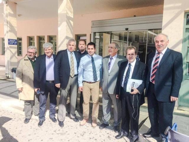 Επίσκεψη αντιπροσωπείας Πανελλήνιου Ιατρικού Συλλόγου