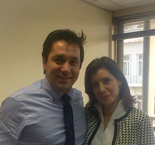 Με την Βουλευτή Άννα Ασημακοπούλου