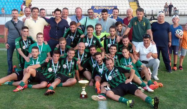 Κατάκτηση Super Cup ΕΠΣ Ηπείρου (2015)